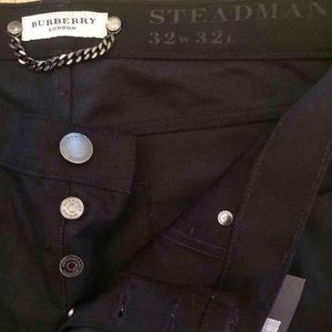 Brand new w tags. Mens Burberry black pants